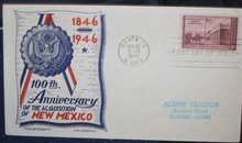 New Mexico Envelope Posted 1946
