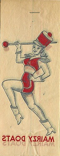 Majorette Iron-On Transfer Decals Toys 1940s