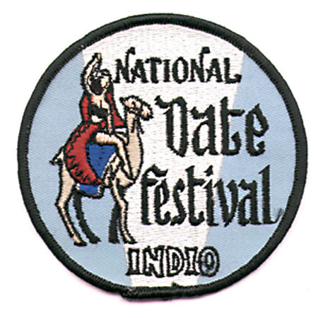 Souvenir Fair Festival Patches 1950s