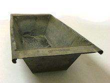 Galvanized Dough Bowl - Primitive Toy Box Planter