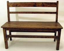 Children's Primitive Bench - Antique