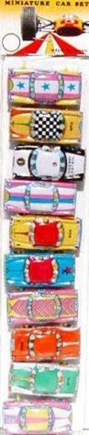 Miniature Car Toys 1960s
