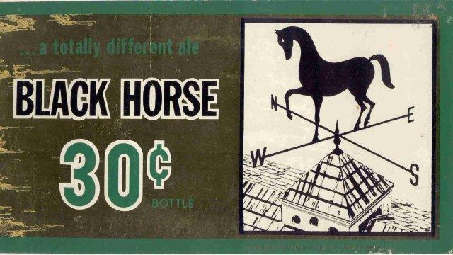 Black Horse Beer Pub Sign