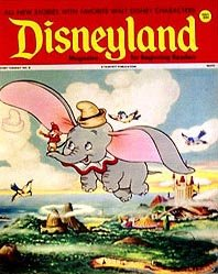 Disneyland Dumbo Magazine
