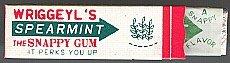 Wriggleys Spearmint Gum Toys