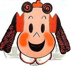 Kleenex Tissue Little Lulu Toy 1940s