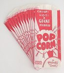 1950s Popcorn Bags Lot