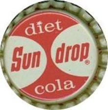 Diet Sun Drop Cola Soda Bottle Caps