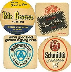 US Beer Coasters Collection