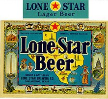 Lone Star Beer Labels