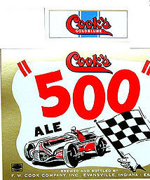 Coor's Indy 500 Beer Labels