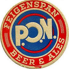 Feigenspan P.O.N. Beer Coaster