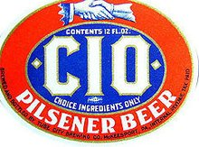 C.I.O. Union Beer Labels