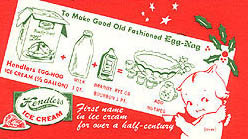 Rosie O'Neill Kewpie Doll Recipe Card