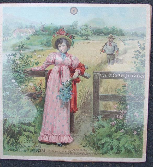 Coe's Fertilizer Sign 1890s