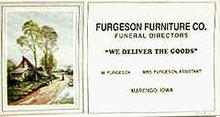Ferguson Funeral Home Blotters