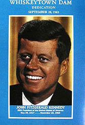 JFK Whiskeytown Dam Book