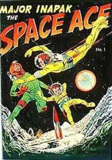 Major Inapack Space Age Comic Book 1951 No. 1