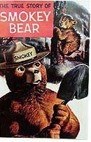 Smokey the Bear Forest Fire Comic Book 1969