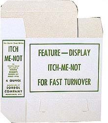 Itch-Me-Not Medicine Boxes