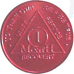 Alcoholics Anonymous Coin