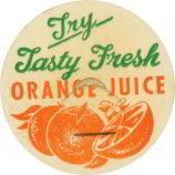Orange Juice Bottle Cap