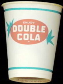 Double Cola Soda Cup