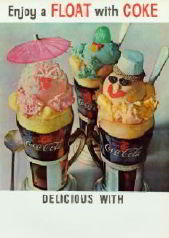 Coca-Cola Float Poster