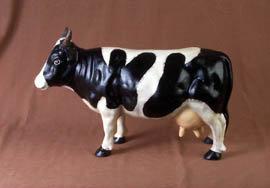 Farm Cow Sculpture - Bossy Cast Iron