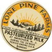 Lone Pine Farms Tuberculosis Milk Cap
