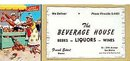 Liquor Store Blotters 1940s