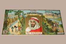 French Soap Label Wrapper