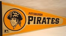 Pittsburgh Pirates Baseball Pennant