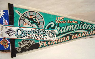 Florida Marlins Pennant