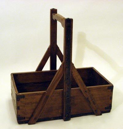 Wood Flower Basket