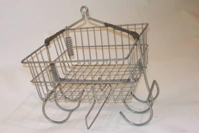 Steel Miners Basket - Mudroom