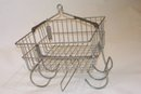 Steel Miners Basket - Mudroom