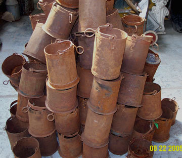 Iron Well Bucket