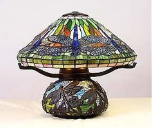 Dragon Fly Lamp - Tiffany Style