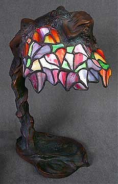 Tiffany Style Lady Table Lamp