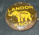 Landon Knox Pinback GOP Pin