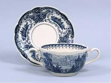 Porcelain Soup Bowl