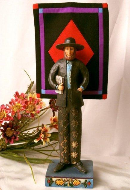 Jim Shore Heartwood Creek Amish Man