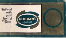 Holihan's Pub Beer Sign