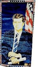 JFK Kennedy Tapestry Art