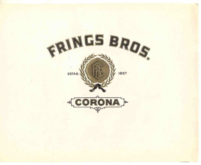 Frings Bros. Cigar Label