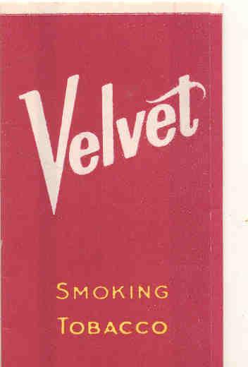 Velvet Tobacco Rolling Paper Pack
