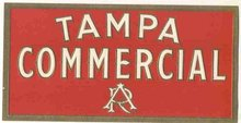 Tampa Cigar Label
