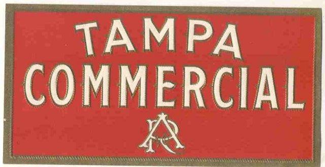 Tampa Cigar Label
