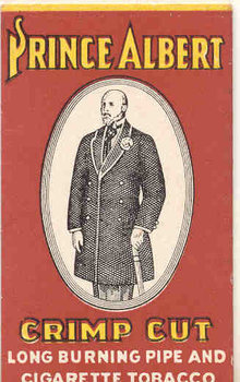 Prince Albert Tobacco Rolling Papers